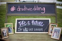 """<strong class='info-row'>Kendall Price Photography</strong> <div class='info-row description'><html>  <head></head>  <body>    The couple encouraged their guests to use the wedding hashtag when posting their photos on Instagram.  Venue: Fairview Gardens  Event Coordinator:   <a href=""""https://www.weddingwire.com/biz/candlelight-roses-florist-and-weddings-reno/2e474472cb508506.html"""" target=""""_blank"""">Candle Light and Roses </a>   </body> </html></div>"""
