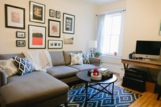 Green Sofa Before And After 171 Mid Century Modern Love