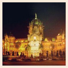 #Mumbai #Evening #VTStation #CST #Monument Mumbai, Big Ben, Management, Building, Photography, Travel, Instagram, Fotografie, Photograph