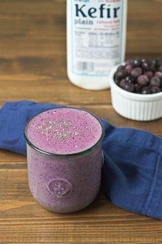 Blueberry Chia Smoothie   love & zest