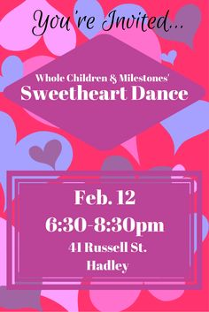 Love is always in the air at Whole Children, but especially during our annual Sweetheart Dance!