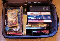 When you go on vacation, your suitcase looks like this. | 25 Signs You're Addicted To Books