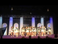 Cheer extreme senior elite routine at worlds before it was changed to tumbling at beginning