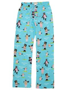 Wild About Golf Pyjama Bottoms for Ladies