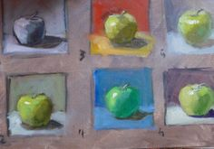 Using temperature changes in your paintings adds variety and interest. http://caroljosefiak.blogspot.com/