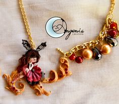 collana corta amor profano by AngeniaCreations on Etsy