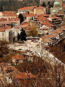 Beautiful city  Veliko Tarnovo, Bulgaria