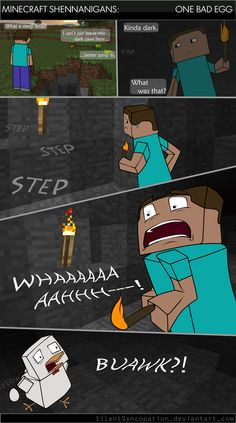 Funny Minecraft Comics | Minecraft Comic strips: Post what you find. | Page 3 | Ducksoup Gaming ...