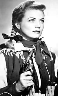 Annie Oakley as played by Gail Davis. My heroines have often been cowgirls!