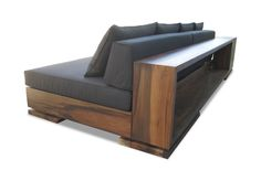 Patone Sofa  MidCentury  Modern, Leather, Upholstery  Fabric, Wood, Sofa by Costantini Design