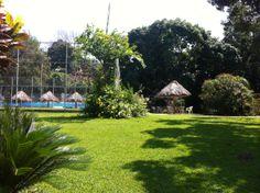 Vista del #RioActopan hacia el Jardín en #careva