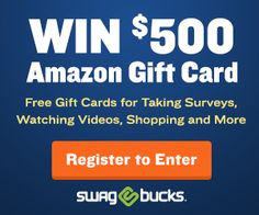 Enter to Win a $500 Amazon Gift Card!