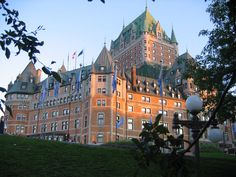 Frontenac Castle - Quebec, Canada;  photo by chel1395