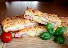 (4) Virslis-sajtos lepény   Alajuli receptje - Cookpad receptek Hungarian Cuisine, Hungarian Recipes, Hungarian Food, Meat Recipes, Chicken Recipes, Cooking Recipes, Winter Food, Sandwiches, Good Food