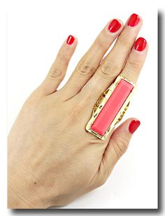 Love coral and gold