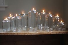 DIY Jar Candle Arrangement | Family Chic