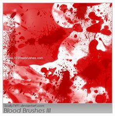 Blood 32 - Download  Photoshop brush http://www.123freebrushes.com/blood-32/ , Published in #BloodSplatter, #GrungeSplatter. More Free Grunge & Splatter Brushes, http://www.123freebrushes.com/free-brushes/grunge-splatter/ | #123freebrushes
