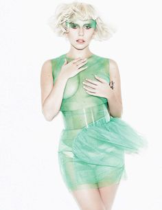 Gaga - ELLE Olympic Dream Team, ELLE UK