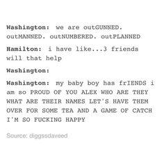 #hamilton #georgewashington #tumblr