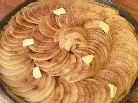 Tarte fine aux pommes - Recette de la tarte fine aux pommes