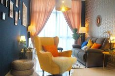 Check out this great place to stay in Johor Bahru Places Around The World, Around The Worlds, Johor Bahru, Interior Paint, Great Places, Canvas, Check, Blue, Painting