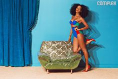 KID FURY | Solange Looks Summer Hot In Complex; Launches Her Own Label