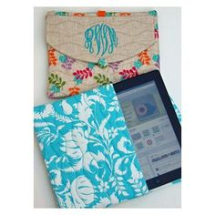 In The Hoop :: Device Cases - Phones, eReaders, Etc. :: iPad Case - Embroidery Garden In the Hoop Machine Embroidery Designs