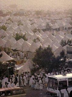 Hajj camp on Arafah World Most Beautiful Place, Beautiful Places, Mecca City, Mecca Madinah, Islam, Masjid Al Haram, Mekkah, Beautiful Mosques, Information Center