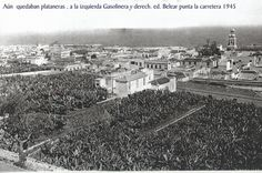 Antes de construir el Belear y la gasolinera Puerto de la Cruz , Tenerife