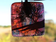 Tree of Life pendant - backlit ... and beautiful!