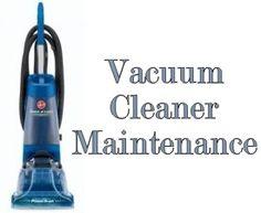 Summer Project: Vacuum Cleaner Maintenance