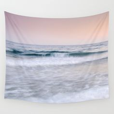 "Buy ""Pink sunset"". Summer dreams.... by Guido Montañés as a high quality Wall Tapestry. Worldwide shipping available at Society6.com. Just one of millions of products available."