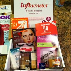 #Influenster Beauty Blogger Voxbox 2012