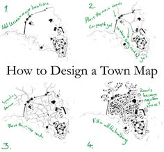 Fantastic guide on how to design a #fictional town map #amwriting #writetip via Rachelle M. N. Shaw