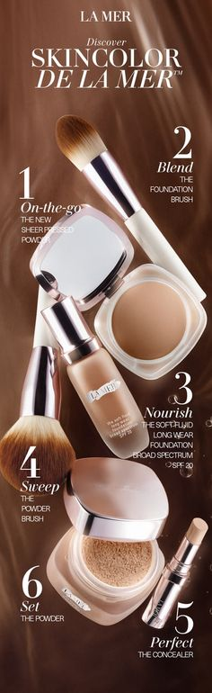 Discover renewing hydration, luminous colour and flexible coverage for your most perfected canvas. Select from 18 luminous, nourishing shades of The Soft Fluid Long Wear Foundation and 4 shades of The NEW Sheer Pressed Powder. Head in-store where a La Mer expert can help you find your perfect shade match, or shop online at cremedelamer.com.au  #BeautyBeyondSkincare #LaMerAustralia
