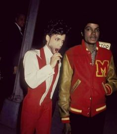 Prince and Michael Jackson - Two Legends (RIP)