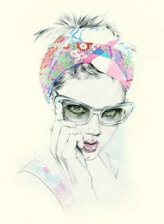 Natalia Sanabria Fashion Illustrations