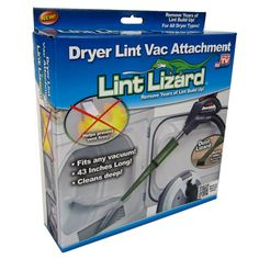The Lint Lizard is amongst the top ten best-selling As Seen On TV items in the US!
