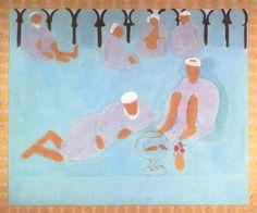 Henri Matisse, Moroccan Café, 1913.
