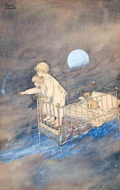 Ida Rentoul Outhwaite - on the way to Dreamland