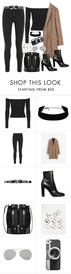 """Untitled #1605"" by samikayy76 on Polyvore featuring Topshop, Acne Studios, Zara, Yves Saint Laurent, Lipsy, Casetify, women's clothing, women, female and woman"
