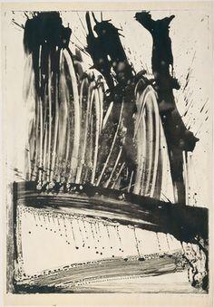 Willem de Kooning. Litho # 2 (Waves # 2). Lithograph, 1960