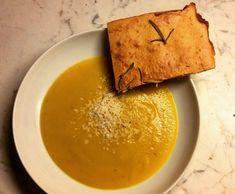 Ricetta Vellutata di verdure con ciaccia di ceci pubblicata da Laura Occhini - Questa ricetta è nella categoria Piatti unici