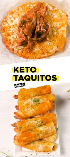 Keto Taquitos Are The Perfect Low-Carb SnackDelish
