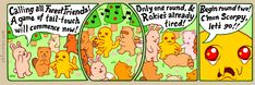 The Perry Bible Fellowship - Scorpy the Forest Friend Perry Bible Fellowship, Dangerous Games, Forest Friends, Cutest Thing Ever, Kids Shows, Funny Comics, Haha, Funny Pictures, At Least