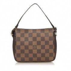 1b1932a949069 Louis Vuitton | Louis Vuitton Damier Ebene Trousse Pochette  #Louisvuittonhandbags