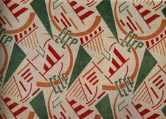 Happy Mouse: Soviet fabric designs 1920's - 1930's