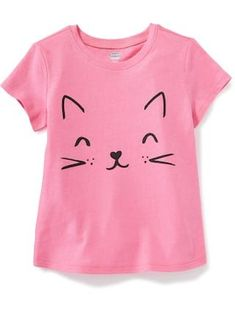 Graphic Crew-Neck Tee for Toddler Girls  c0e8b5857e0