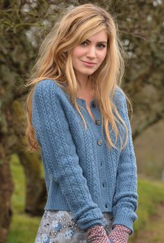 cashmere cardigan, brora, 279. note to self: knit faster.