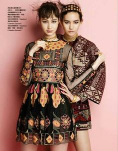 Vogue Taiwan Editorial June 2014 - Mona Matsuoka , Saki Asamiya, Yuka Mizuhara by Leslie Kee